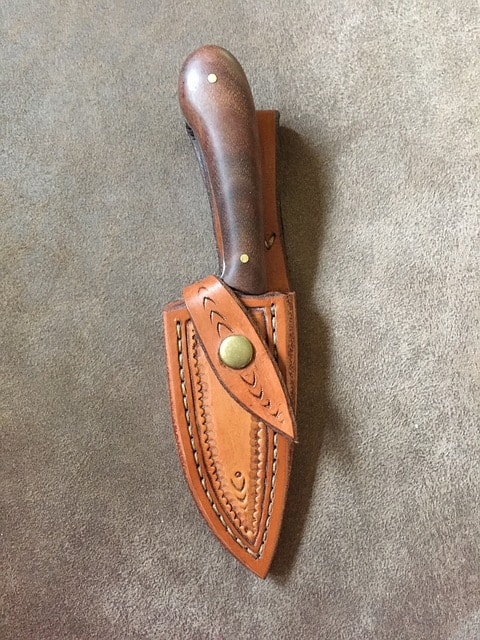 Handmade knife sheath