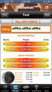 Top 10 best deer hunting apps for ios and android trail for Hunting and fishing times