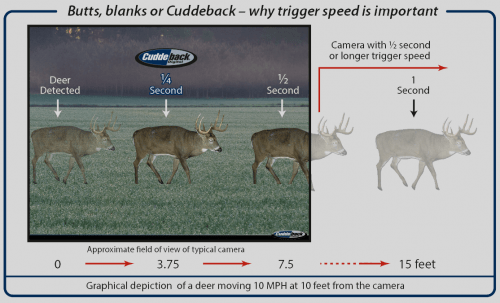 importance of trigger speed for trail camera